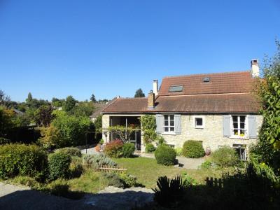 A vendre - Maison Crespieres - 9 pièces 185m² - Terrain 1463m²