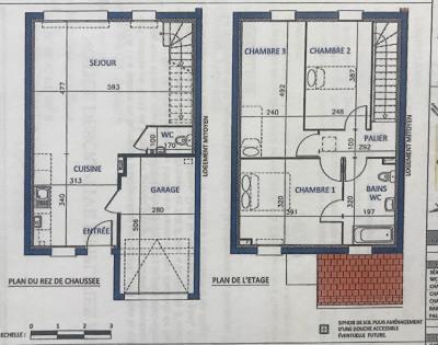 Maison 4 pièce (s) 80.50 m²