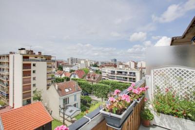 Appartement Courbevoie 3 pièces 62.19 m²