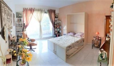 Appartement 1 pièce avec grand balcon