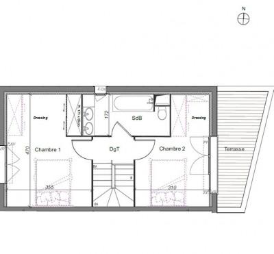 Maison 3 pièce (s) 71.90 m²