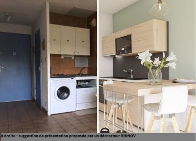 2 pièces parkings, jardin LA LONDE LES MAURES - 2 pièce(s) - 34.29 m2