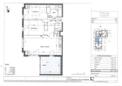 Appartements T3 et T4