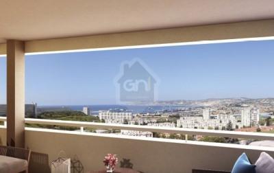 Appartement T2 - 43m² - Marseille 15ème