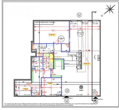 Murs Puteaux 159.5 m2