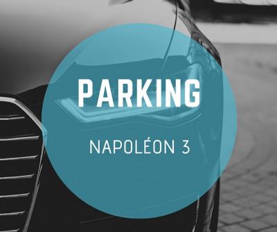 Nice Napoléon 3 domaine des roses parking