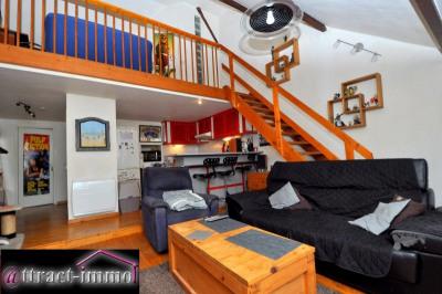 Appartement en duplex, 60m² (73m² au sol)