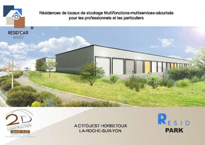 Parking / box Neuf La Roche Sur Yon 30 m²