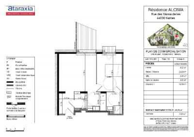 Appartement Nantes 2 pièce (s) 45 m²