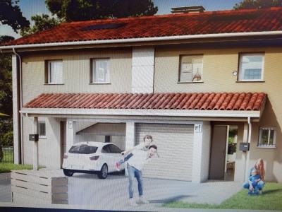 Maison T4 de 92 m² avec jardin de 190m² dans le Haut Boucau