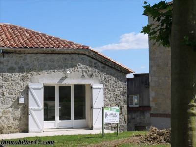 Maison de village prayssas - 2 pièce (s) - 52 m²