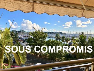 App T3 très belle vue sur la Marina du Marin