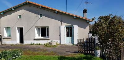 Maison de village brulain - 3 pièce (s) - 91 m²