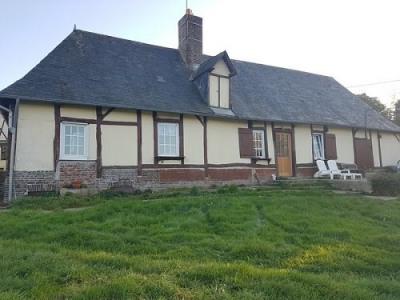 Maison normande avec vue dégagée