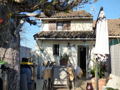 Maison de ville 2 chambres avec jardinet 33870 Vayres