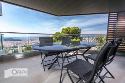 NIce Mont Boron - appartement 3 pièces 88m² + terrasses 4