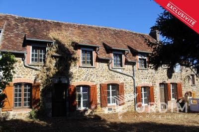 Maison ancienne st sauveur en puisaye - 6 pièce (s) - 140 m²