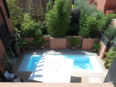Magnifique villa-riad avec piscine