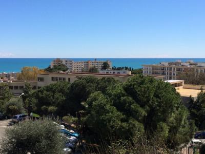 Grand studio terrasse vue mer Napoléon 3