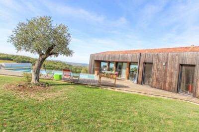 Maison bioclimatique Serignac