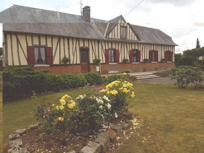 Maison normande de plain pied située entre Aumale et Formerie