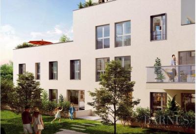 LE VOLT'R-Villeurbanne-Roof top duplex apartment-4 bedrooms