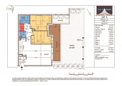 NEUF: Samoën Centre - Appartement 3 pièces 63,50 m²