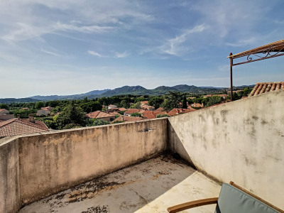 Maison de village T3 102m² et garage 100m² aménageable