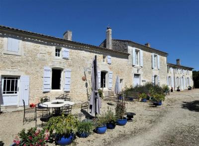 Maison Saint Simon De Pellouaille 10 pièce(s) 380 m2