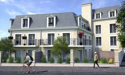 4 pièces en duplex au dernier étage avec balcon et Terrasses !