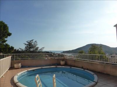 66660 - port-vendres villa 4 chambres vue mer - piscine