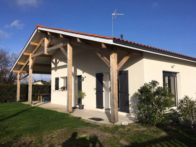 Maison Contemporaine de Plain Pied Biscarrosse Bourg