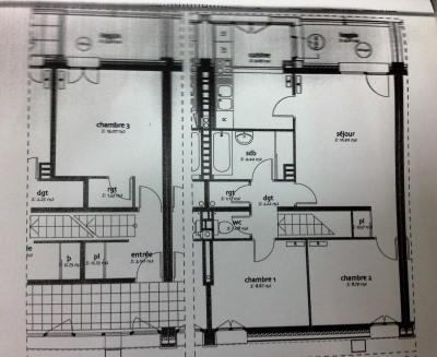 Appartement 4 pièces en Duplex