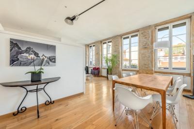 Appartement rénové par un architecte aux Brotteaux