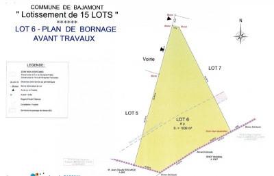 Terrain à bâtir - 1039 m²