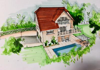Villa Serres Castet 5 pièce(s) 164 m2
