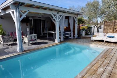 Villa, 3 chambres, piscine et terrasse sans vis à vis