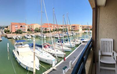 CARNON PLAGE Duplex vue Marina