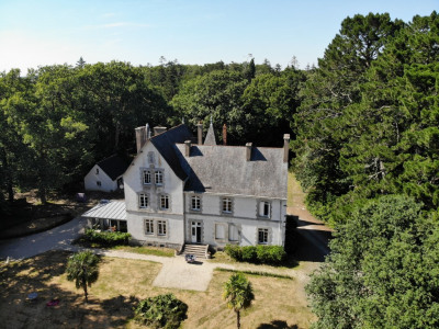 A louer - surzur - château 7 chambres