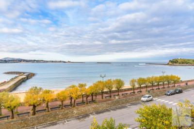 Saint JEAN DE LUZ CENTRE – Appartement 3/4 pièces vue mer