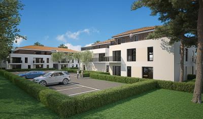 Appartement 3 pièces avec balcon et 2 parkings