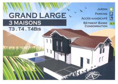 Maison Biscarrosse 3 pièce(s) 62.63 m2
