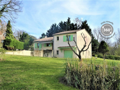 Villa avec piscine montpezat - 4 pièces - 90 m²