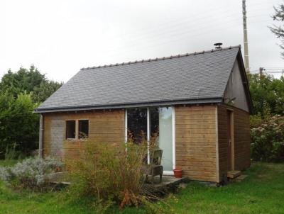 Maison ossature bois st nicolas du pelem - 2 pièce (s) - 30 m²