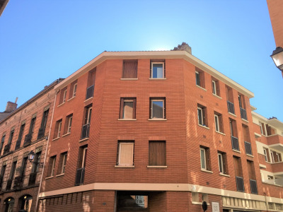 Duplex Capitole balcon buanderie