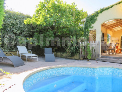 Maison type 5avec jardin et piscine