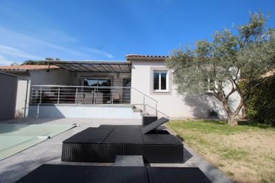 Ensemble immobilier 2 villas a beaumes de venise sur 2 070 m²