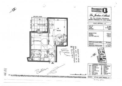 Appartement T2 avec terrasse et 2 places de parking