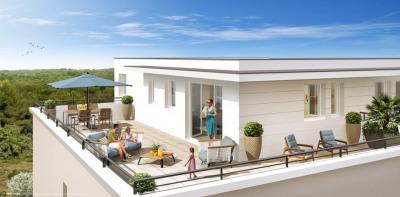 5 pièces de 120m² avec terrasse de 27 m², Parking