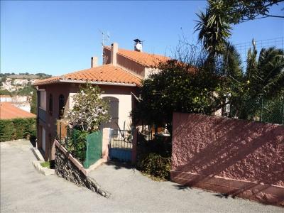 66190 collioure villa 4 faces - garage - jardin